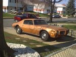 THE FIREBIRD AS IT WAS THE DAY I BROUGHT IT HOME