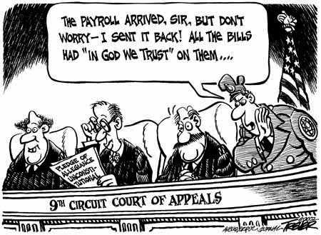 AMERICAN COURTS- THE JOKE IS ON US « FIRST IN